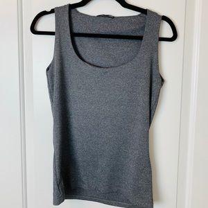 Grey tank top from Zara